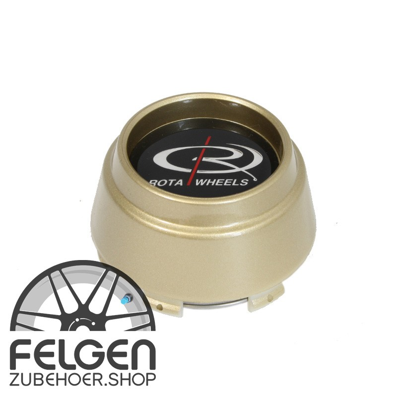 Nabendeckel ROTA Wheels maxi in der Farbe Gold